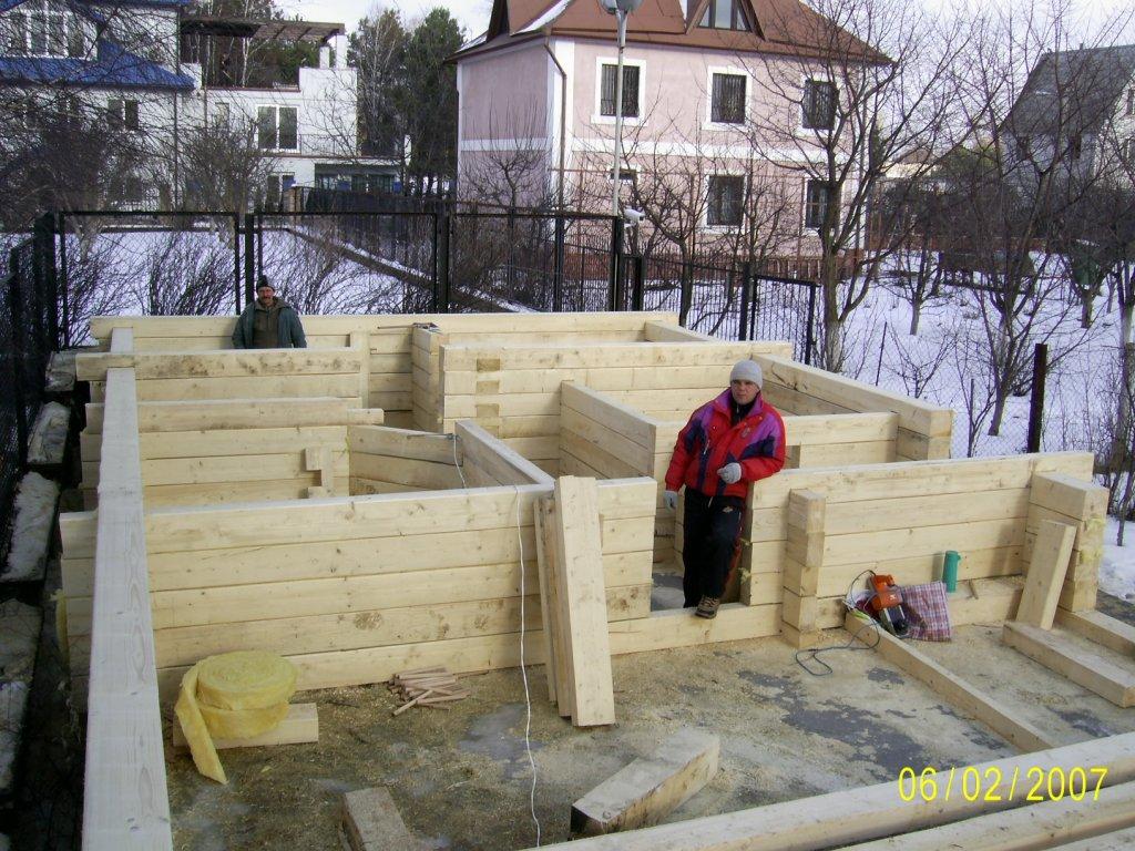 Проекты деревянных домов из сруба